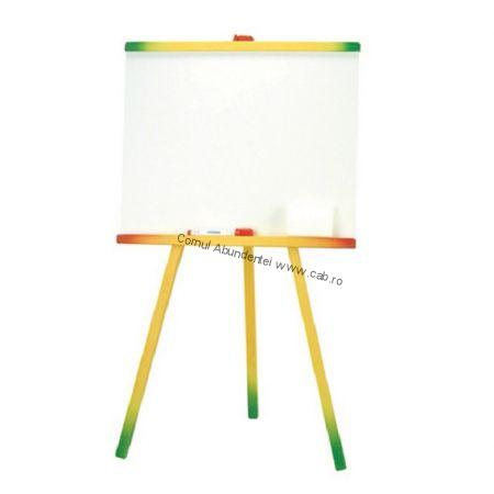 Tablita de lemn whiteboard cu suport