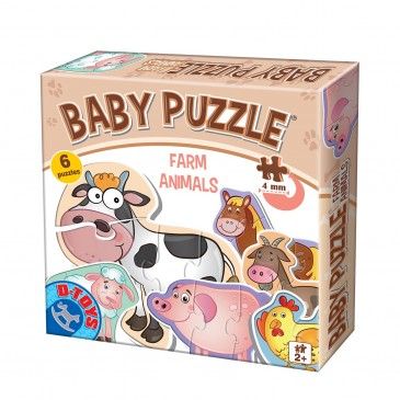 BABY PUZZLE FARM ANIMALS