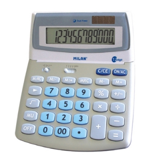 Calculator Milan 152512 BL